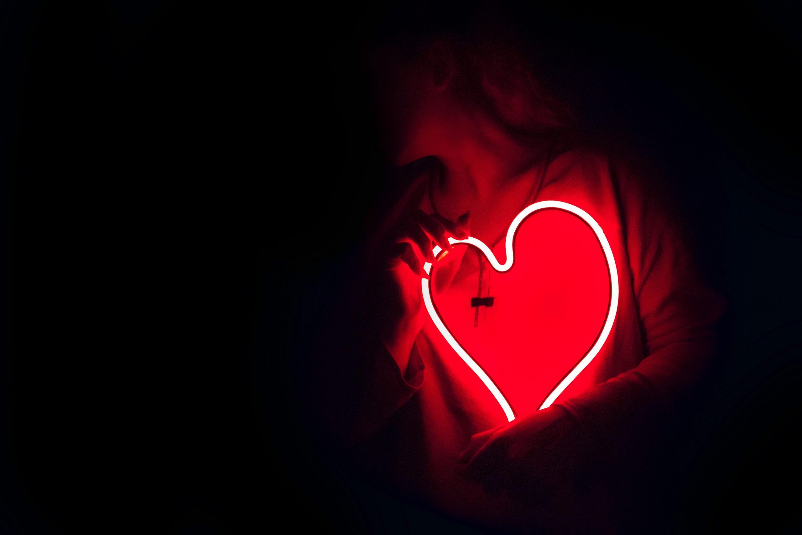 Neon heart; reducing your risk of heart disease