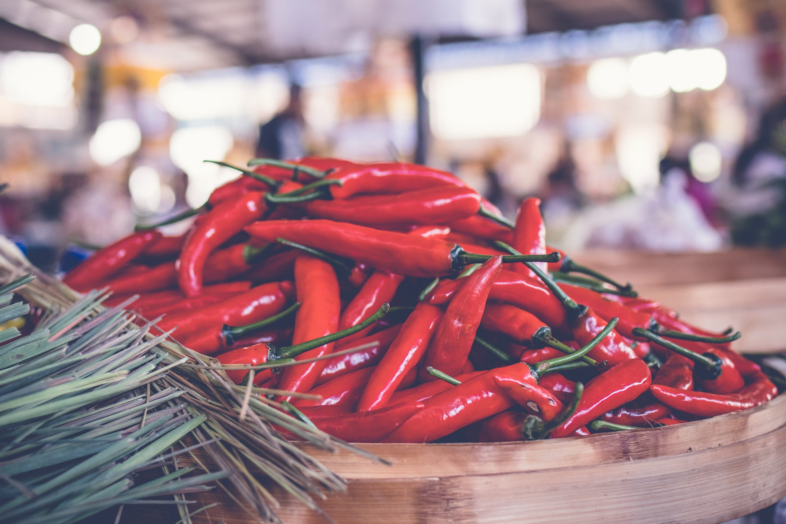 Chili peppers; acid, indigestion, and bloating.